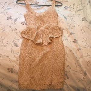 American rag Beene lace dress Small